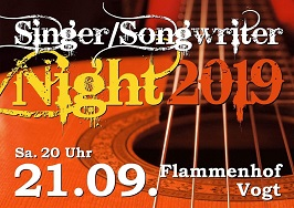 Singer- Songwriter Nacht